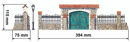 1/35 MiniArt 35505  FRENCH  FARM  GATE