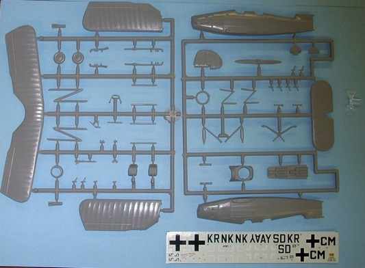 1/72 RS models 92063 Arado 66 Nachtschlacht single-seater
