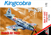 1/72 AMG 72404 P-63C Kingcobra French Air Force
