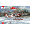 1/72 A-model 72309 AIR-6 Soviet Monoplane on Skis