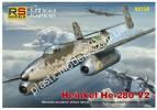 1/72 RS models 92150 He-280 with Jumo 004