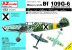 1/72 AZ model 7632 Messerschmitt Bf-109G-6 'Bulgarian AF'