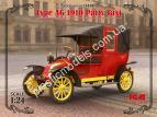 1/24 ICM 24030 Type AG 1910 Paris Taxi