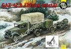 1/72 Military Wheels 7250 Gaz-42 &120mm mortar
