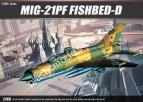 1/48 Academy 2166 MIG-21PF FISHBED-D