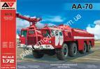 1/72 A&A Models 7219 AA-70 Aircraft Rescue and Firefighting (ARFF) truck