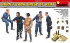 1/35 MiniArt 35246 Soviet Tank Crew at Rest.Special Edition