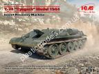 "1/35 ICM 35371 T-34 ""Tyagach"" Model 1944, Soviet Recovery Machine"