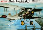 1/72 AZ model 7221 Gloster Gauntlet Munich crisis 1938