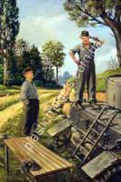 1/35 Master Box 3509 German tank repairmen (1941-1945)