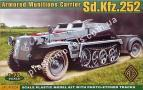 1/72 ACE 72238 Armored Munitons Carrier Sd.Kfz.252