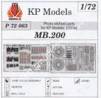 1/72 Kp-models 72063 Photo etched set MB.200