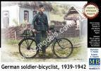 1/35 Master Box 35171 German soldier-bicyclist, 1939-1942