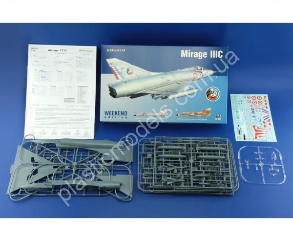 1/48 Eduard 8496 Mirage IIIC Weekend Edition