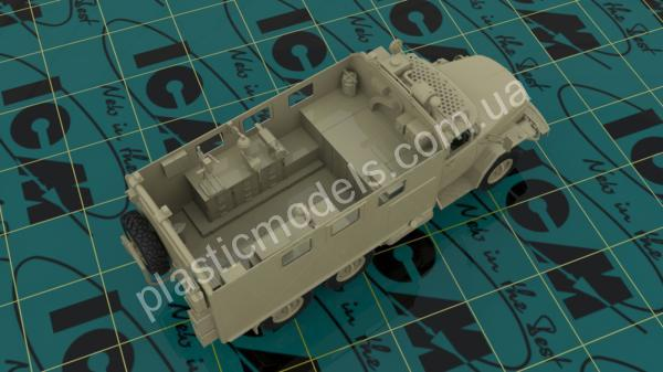1/35 ICM 35520 ZiL-131 MTO-AT, Soviet Recovery Truck