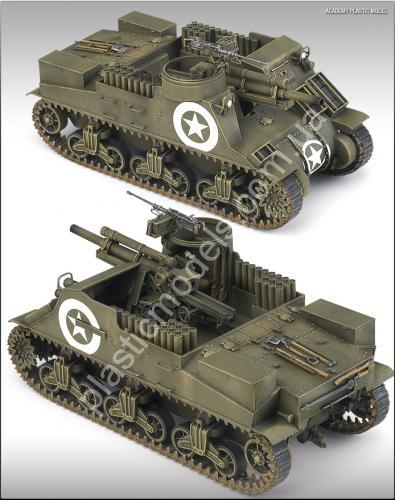 1/35 Academy 13210 M7 PRIEST (U.S. HOWITZER MOTOR CARRIAGE)