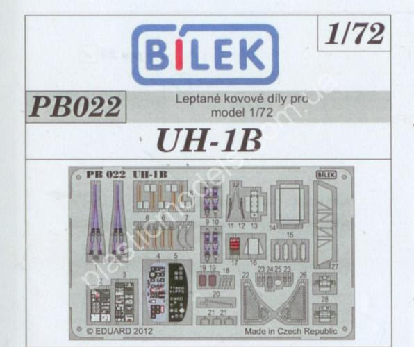 1/72 Bilek pb 022 Photo etched UH-1B