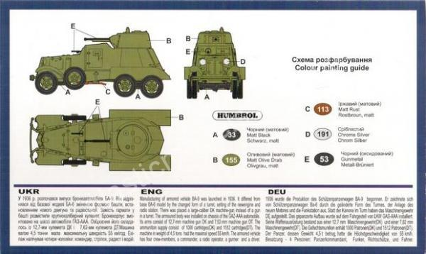 1/72 UM 365 Armored Vehicle BA-9