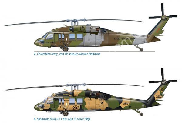 1/72 Italeri 1328 UH-60 Black Hawk
