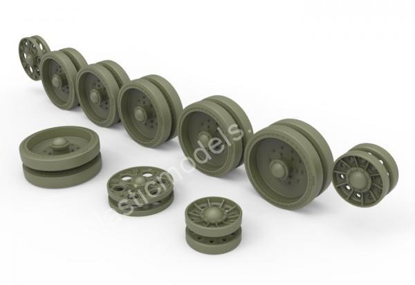 1/35 MiniArt 35242 T-34 Wheels set. 1943-44 series