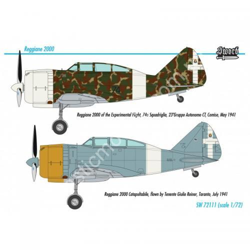 1/72 Sword 72111 Reggiane Re.2000 Falco