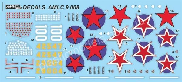1/72 AML AMLC 9008 The Soviet Air Force's Ranking Aces in Kobras