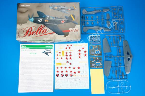 1/48 Eduard 11118 Bella P-39 Airacobra in Red Army service Dual combo