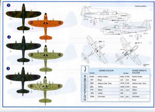 1/48 AZ model 4819 Fairey Firefly Mk.I early / NF.2