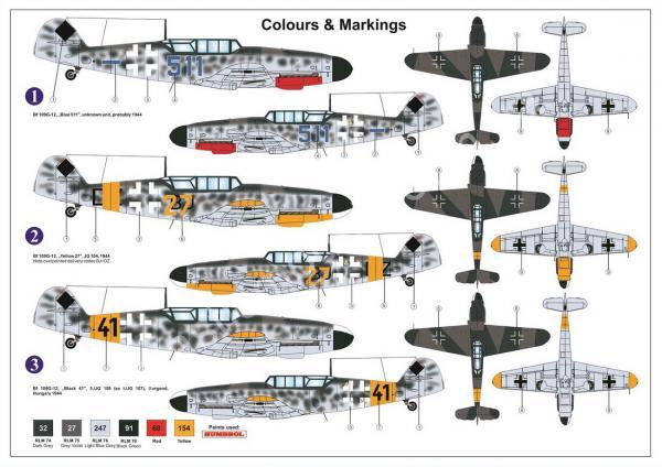1/72 AZ model 7616 Bf-109G-12 (G-4 based) 'Two-seater'