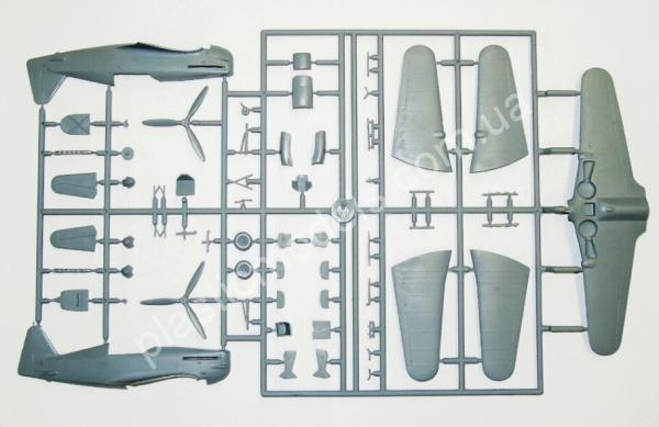 1/72 RS models 92118 Morane Saulnier MS.406 France 1940