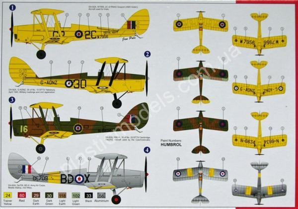 1/72 AZ model 7415 De Havilland DH-82A Tiger Moth (RAF) HQ