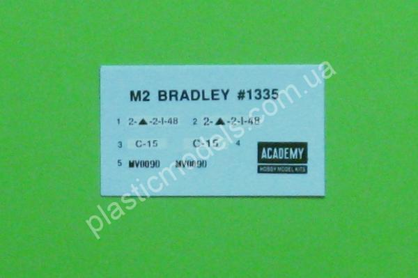 1/35 Academy 1335 M2 Bradle U.S. Army infantry fighting venicle