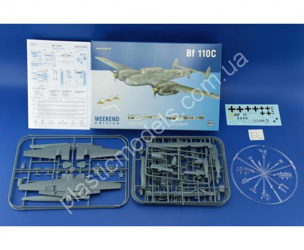 1/72 Eduard 7426 Bf 110C Weekend edition