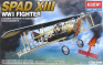 1/72 Academy 12446 Spad XIII WWI Fighter