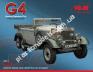1/24 ICM 24011 Typ G4 (производства 1935г.), Автомобиль германского руководства 2 Мировой Войны