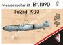 1/72 AMG 72406 Messerschmitt Bf.109C Legion Condor (Poland, 1939)