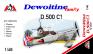 1/48 AMG 48401 Dewoitine D.500 C1 (French AF)