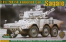 1/72 ACE 72415 ERC-90 F4 Sagaie Armoured Car